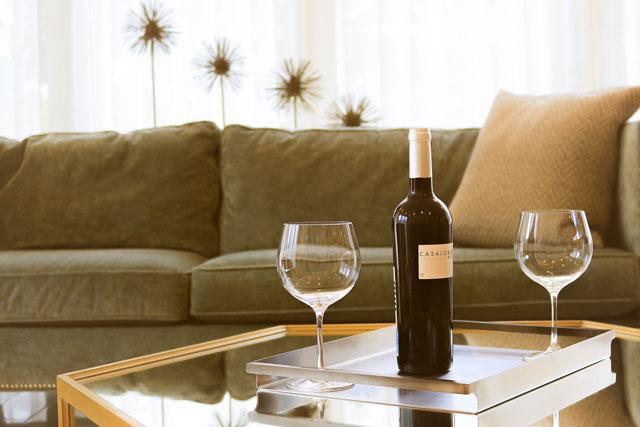 家ワインを楽しむ