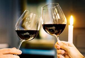 ワイン好きの米澤夫婦